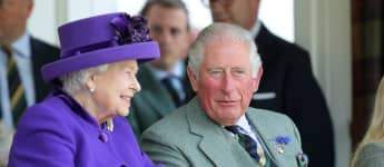 See The Queen's Throwback Tribute For Prince Charles's 72nd Birthday pictures photos portrait 2020