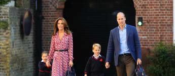The Royals Celebrate UK Mother's Day: See Prince George's Card For Kate Middleton