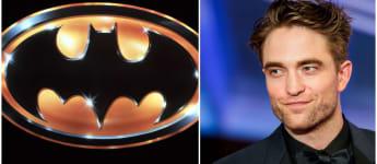 Batman Logo Robert Pattinson 2021