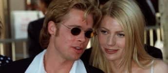 Brad Pitt and Gwyneth Paltrow