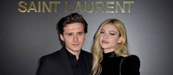 Brooklyn Beckham y Nicole Peltz en la Paris Fashion Week Womenswear