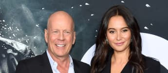 Bruce Willis and Emma Heming attend the 'Glass' New York Premiere, January 15, 2019.