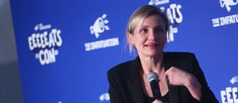 Cameron Diaz Opens Up About Making Movies And Motherhood
