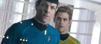 Zachary Quinto and Chris Pine