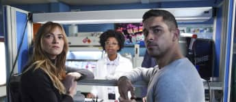 NCIS: Emily Wickersham, Diona Reasonover and Wilmer Valderrama