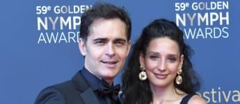 Pedro Alonso y su novia Tatiana