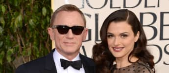 Daniel Craig and Rachel Weisz on the red carpet