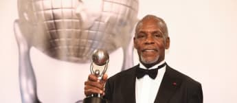 Danny Glover, recipient of the NAACP President's Award, poses in the press room for the 49th NAACP Image Awards at Pasadena Civic Auditorium on January 15, 2018 in Pasadena, California