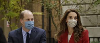 William And Kate Commemorate NHS Workers In Special Ceremony