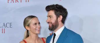 """John Krasinski Says Wife Emily Blunt Is The """"Most Tremendous Actress Of Our Time"""""""