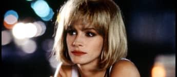 "Julia Roberts as ""Vivian Ward"" in the 1990 hit movie Pretty Woman."