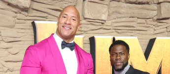 Dwayne Johnson y Kevin Hart