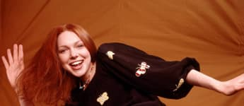 """Laura Prepon as """"Donna Pinciotti"""" on That 70's Show."""