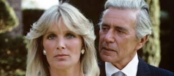 Linda Evans y John Forsythe