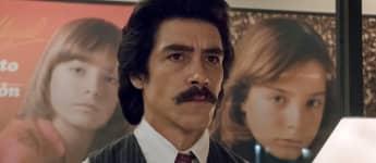 Óscar Jaenada en una escena de 'Luis Miguel: la serie'
