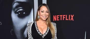 """Mariah Carey en la premier de """"A Fall From Grace"""""""