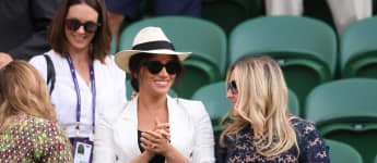 Duchess Meghan attends Wimbledon Finals Day 4 on July 4th, 2019