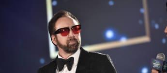 Nicolas Cage at the 2019 Hainan International Film Festival.