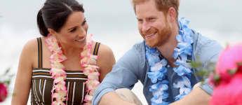 Meghan Markle y el príncipe Harry