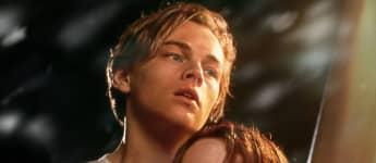 Leonardo DiCaprio y Kate Winslet en una imagen promocional de 'Titanic'
