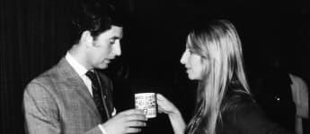 El príncipe Carlos y Barbra Streisand