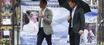 Prince William and Prince Harry Agree On Princess Diana Tribute
