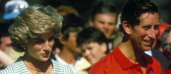 Princess Diana and Prince Charles at a polo tournament in 1985.