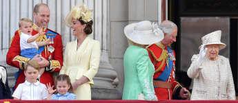 Prince William Duchess Kate Charlotte George Louis