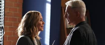 Mark Harmon y Maria Bello en NCIS