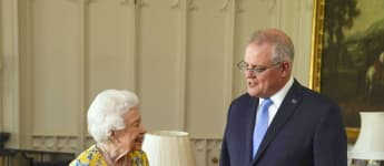 Queen Elizabeth's First Face To Face Windsor Meeting In One Year