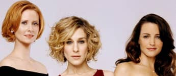 Cynthia Nixon, Sarah Jessica Parker y Kristin Davis en una imagen promocional de la serie 'Sex and the City'