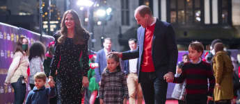 William And Kate Attend Special Performance With Their Kids