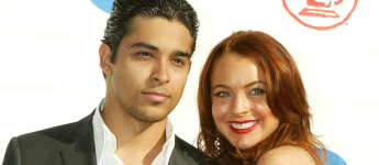 Wilmer Valderrama Lindsay Lohan Latin Grammys 2014