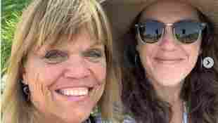Amy Roloff Shares Rare New Picture With Her Daughter Molly Silvius husband Joel 2021 Little People Big World family wedding Chris season 23