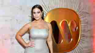 Ashley Graham attends the Warner Music Group Pre-Grammy Party.