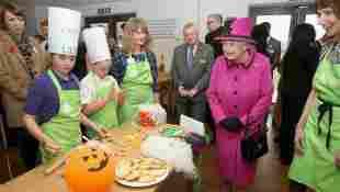 Reina Isabel II Halloween