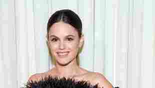 Rachel Bilson at the Fall/Winter 2020 New York Fashion Week