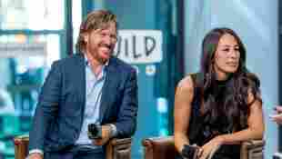 """Chip and Joanna Gaines discuss """"Capital Gaines: Smart Things I Learned Doing Stupid Stuff"""" and the ending of the show """"Fixer Upper"""" with the Build Series at Build Studio on October 18, 2017 in New York City"""