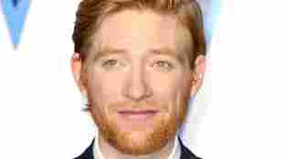 """Domhnall Gleeson attends the """"Star Wars: The Rise of Skywalker"""" European Premiere at Cineworld Leicester Square on December 18, 2019 in London, England"""