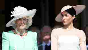 """Duchess Camilla Grudge Against Meghan Markle For """"Hurting Prince Charles royal family news 2021 Oprah interview Prince Harry Telegraph report"""