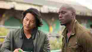 Sung Kang y Tyrese Gibson