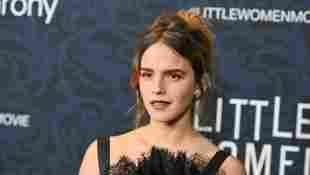 "Emma Watson arrives for ""Little Women"" world premiere at the Museum of Modern Art"
