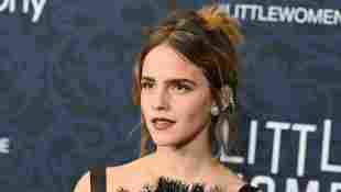 "Emma Watson attends the ""Little Women"" World Premiere at Museum of Modern Art on December 07, 2019 in New York City"