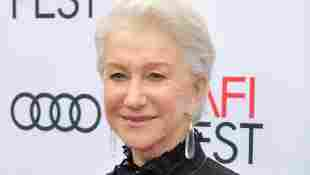 Helen Mirren on the red carpet at the AFI Fest in 2017.