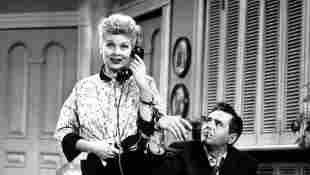 'I Love Lucy' 1951 Production Still