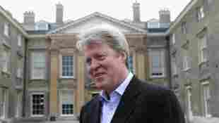 Inside Charles Spencer's Althorp Home With Princess Diana Portrait painting new picture photo 2021 Royal Family news