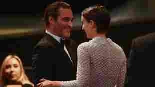 Joaquin Phoenix y Rooney Mara asisten al Festival de Cine de Cannes en 2017.