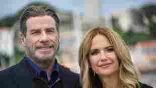John Travolta Shares Emotional Preview Of Kelly Preston's Final Movie Off the Rails 2021 film trailer watch release date Instagram