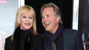 """Melanie Griffith and Don Johnson attend the New York premiere of """"How To Be Single"""""""