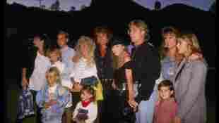 Michael Landon and family